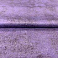 Zachte stoffen - KN 21/22 17120-815 Scuba suede leather lila