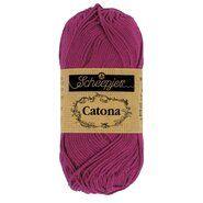 Haak- en breigaren - Catona 128 Tyrian Purple 50GR