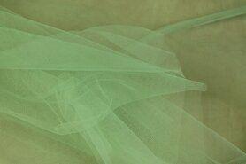 Goedkope stoffen - BU 4700-030 Tule breed zacht groen