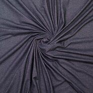 T-Shirt stoffen - Ptx 777100-999 Tricot organic denimlook zwart