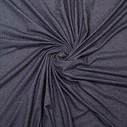 Tuniek stoffen - Ptx 777100-999 Tricot organic denimlook zwart