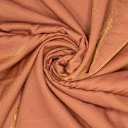 Top(je) stoffen - Ptx 21/22 420069-6 Viscose shiney satin look koraal