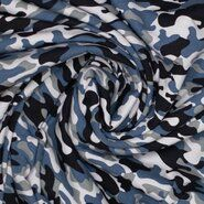 Blouse - Ptx 21/22 340084-68 Tricot camouflage middenblauw