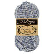 Brei- en haakgarens MERINO SOFT BRUSH - Merino Soft Brush 253 Grijs
