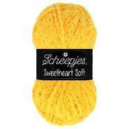 Brei- en haakgarens SWEETHEART SOFT - Sweetheart Soft 23 Geel
