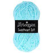 Brei- en haakgarens SWEETHEART SOFT - Sweetheart Soft 21 See Blue