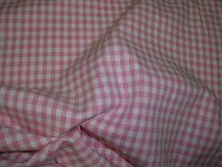 Mondkapjes paneel - NB 5582-011 Katoen Boerenbont ruit roze 0.4