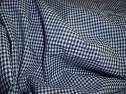 Boerenbont stoffen - NB 5581-008 Boerenbont mini ruitje donkerblauw 0.2