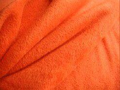 Fleece stoffen - NB 9111-036 Fleece oranje