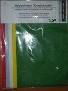 Diversen - 10102 Patroon kopieerpapier*