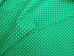 Boerenbont stoffen - NB 5575-025 Stipjes katoen groen