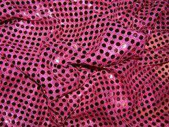Lamee/Paillettenstoff - KN 0142-405 Paillettenstoff bordeaux