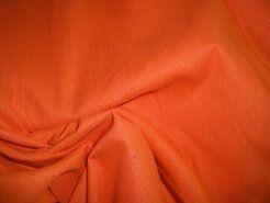 Gordijnstoffen - NB 5569-036 Katoen uni oranje