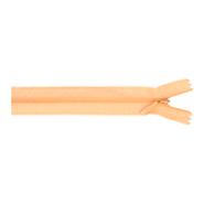 Blinde Reißverschlüsse - nahtverdeckter Reissverschluss 60 cm lachs