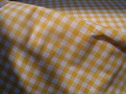 Boerenbont stoffen - NB 5635-035 Boerenbont ruit geel 1 cm