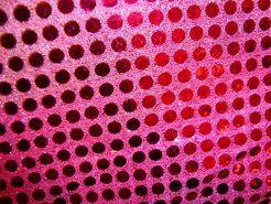 Feeststof - KN 0142-870 Paillette stof fuchsia