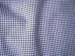 Boerenbont stoffen - NB 5581-063 Boerenbont mini ruitje donkergrijs-taupe 0.2