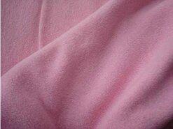 Fleece stoffen - RS 0233-012 Fleece katoen lichtroze