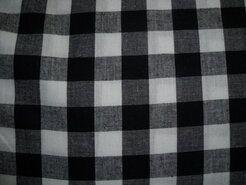Boerenbont stoffen - NB 5583-069 Boerenbont ruit zwart 1.5 cm