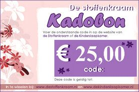 Overige producten - Kadobon 25 euro