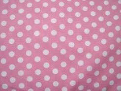 Boerenbont stoffen - NB 5576-011 Katoen balletjes roze
