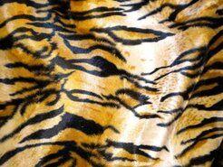 Cognac - NB 4512-037 Dierenprint tijger cognac/bruin/zwart