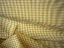 Boerenbont stoffen - NB 5581-035 Boerenbont mini ruitje geel 0.2