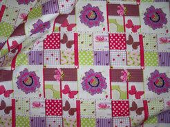 Cotton for Kids Stoffe - Cotton for Kids Baumwolle Patchwork multi von 7.95...