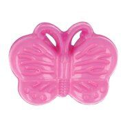 Knöpfe - Kinderknopf Schmetterling rosa (5604/1)