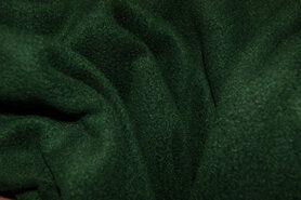 Fleece stoffen - NB 9111-028 Fleece donkergroen