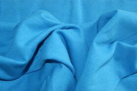96%viscose, 4%spandex - NB 1773-003 Tricot uni turquoise