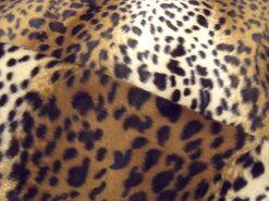 Carnavalsstoffen - Dierenprint 19 4517-056 (kleine vlekjes ecru/bruin/zwart)