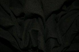 Feuerverzögernde Stoffe - Feuerbestendiger Futterstoff schwarz