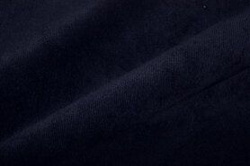 Ribcord und Velvet - Nb 12/13 1576-8 Cord Stretch dunkelblau