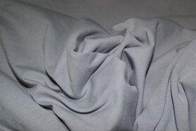 Stenzo stoffen - Stenzo 18600-160 Tricot uni lichtgrijs