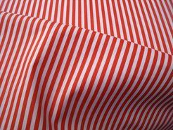 Oranje stoffen - NB 5574-036 Katoen streep oranje