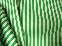 Boerenbont stoffen - NB 5574-025 Katoen streep groen