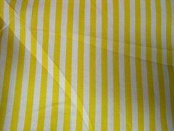 Boerenbont stoffen - NB 5574-035 Katoen streep geel