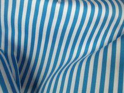 Boerenbont stoffen - NB 5574-004 katoen streep turquoise