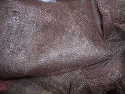 Goedkope tule - Tule breed donkerbruin