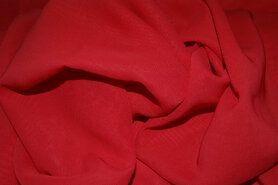 Voile - NB 3969-015 Chiffon uni rood op=op
