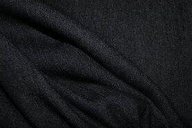Spijkerstoffen - NB 3928-069 Jeans stretch zwart