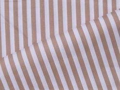 Boerenbont stoffen - NB 5574-053 Katoen streep beige