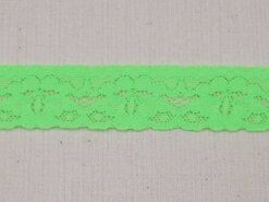 Felgroen - Rekbaar kant 2.5 cm neon groen (2146-333)