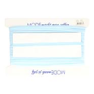 Paspelband en biasband* - Paspelband rekbaar lichtblauw (5005-258)* OP=OP
