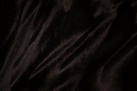 Carnavalsstoffen - NB 5499-54 Dierenprint donkerbruin