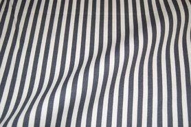 Boerenbont-Stoff - NB 5574-68 Baumwolle Streifen dunkelgrau