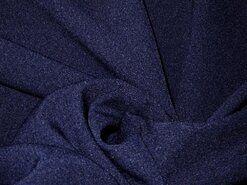 Blauwe vitrages - NB 3956-008 Crepe Georgette donkerblauw