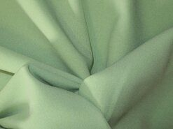 Groene vitrages - NB 3956-022 Crepe Georgette lindegroen