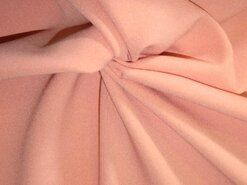 Roze vitrages - NB 3956-037 Crepe Georgette poederzalm